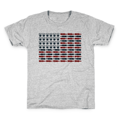 United Drinks of America Kids T-Shirt
