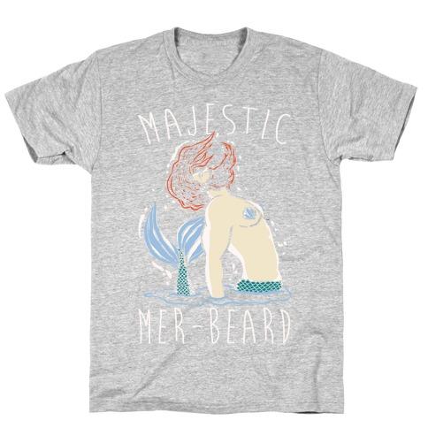 Majestic Mer-Beard T-Shirt
