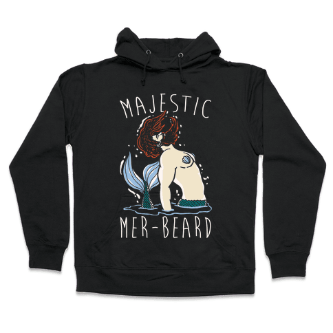 Majestic Mer-Beard Hooded Sweatshirt