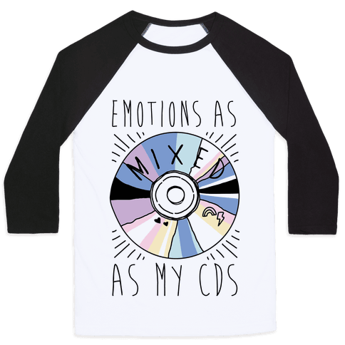 Mixed Emotions Baseball Tee