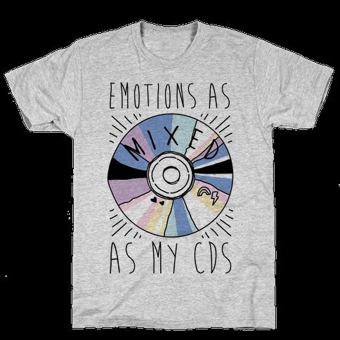 Mixed Emotions Mens T-Shirt