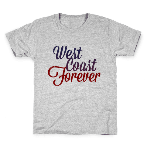 West Coast Forever (Vintage Tank) Kids T-Shirt