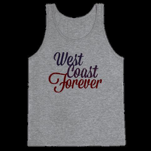 West Coast Forever (Vintage Tank) Tank Top