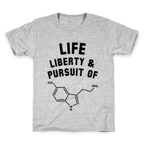 Life, Liberty, & Pursuit of Happiness Kids T-Shirt