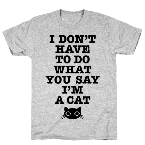 I'm A Cat Mens T-Shirt