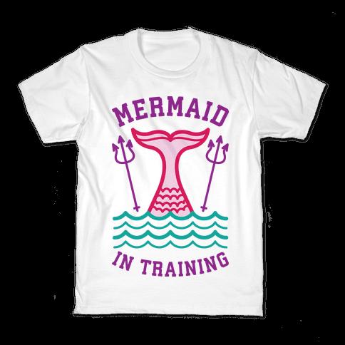 Mermaid In Training Kids T-Shirt