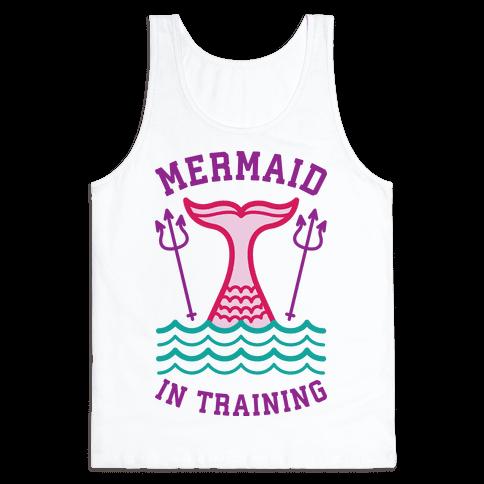 Mermaid In Training Tank Top