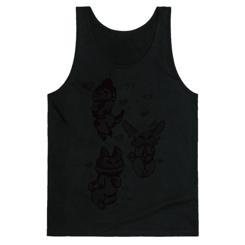 Kawaii Chibi Desserts Tank Top