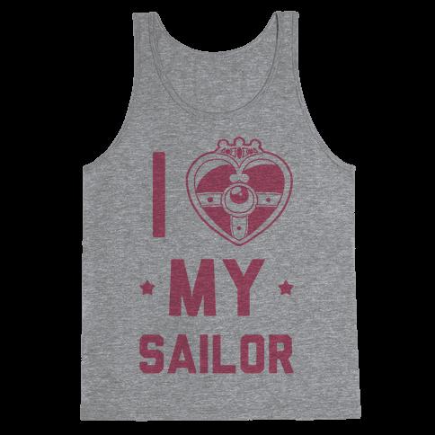 I Heart My Sailor Tank Top