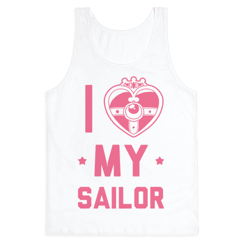 I Heart My Sailor Tank Top