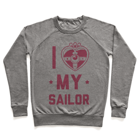 I Heart My Sailor Pullover