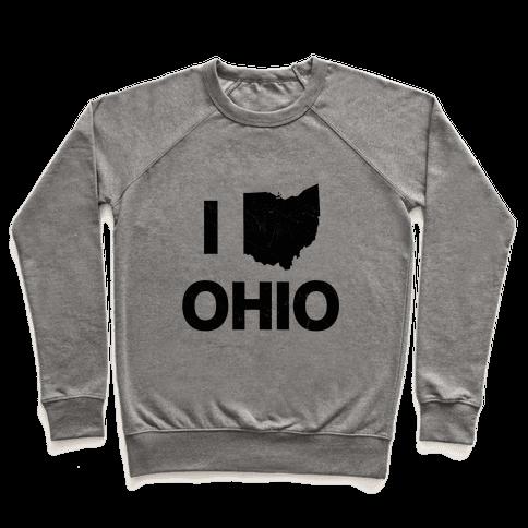 I Love Ohio Pullover