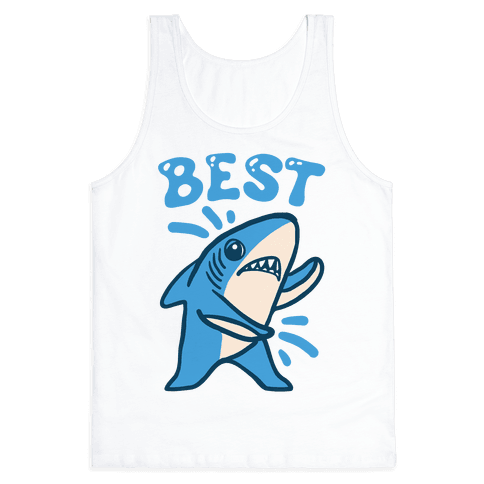 Best Friend Sharks (Part 1) Tank Top