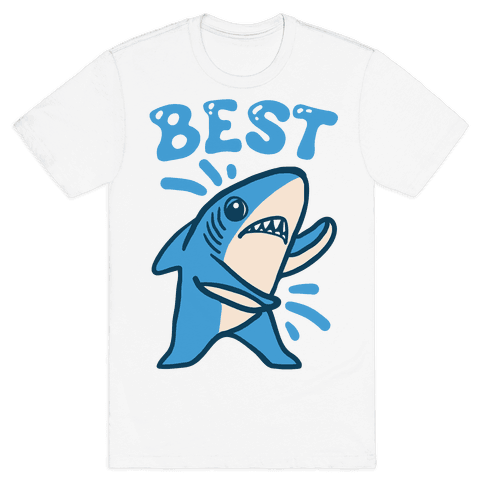 Best Friend Sharks (Part 1) Mens T-Shirt