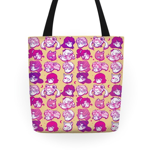 Sailor Moon Warriors Tote
