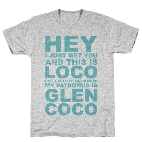 My Patronus is Glen Coco Mens T-Shirt