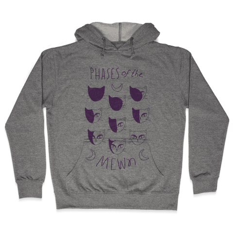 Phases Of The Mewn Hooded Sweatshirt
