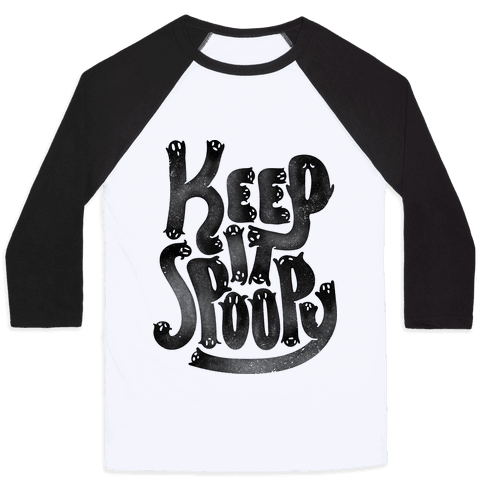 Keep it Spoopy Baseball Tee