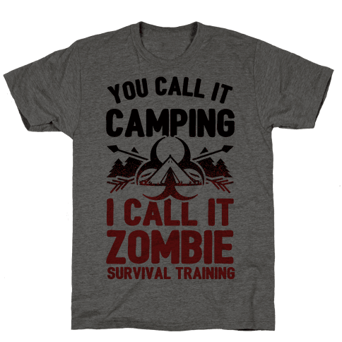Camping is Zombie Survival Training