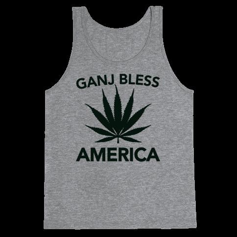 Ganj Bless America Tank Top