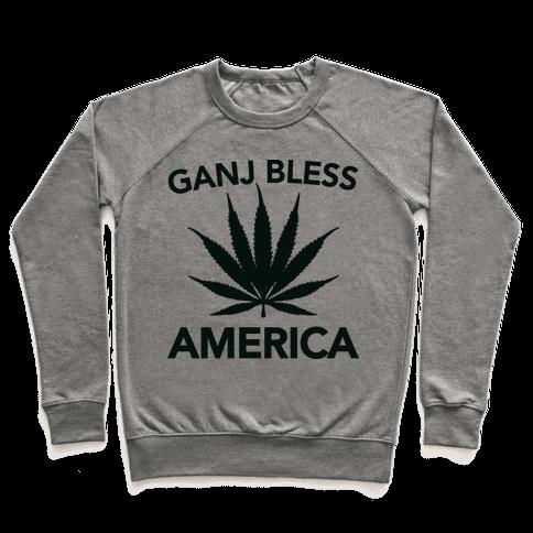 Ganj Bless America Pullover