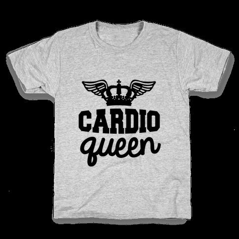 Cardio Queen Kids T-Shirt