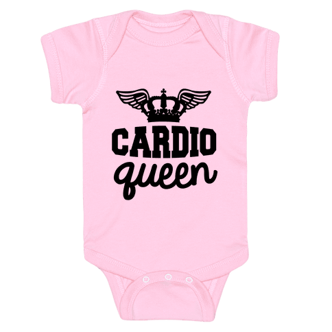 Cardio Queen Baby Onesy