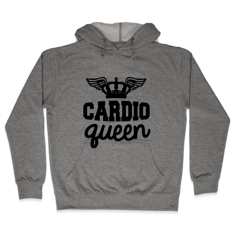 Cardio Queen Hooded Sweatshirt