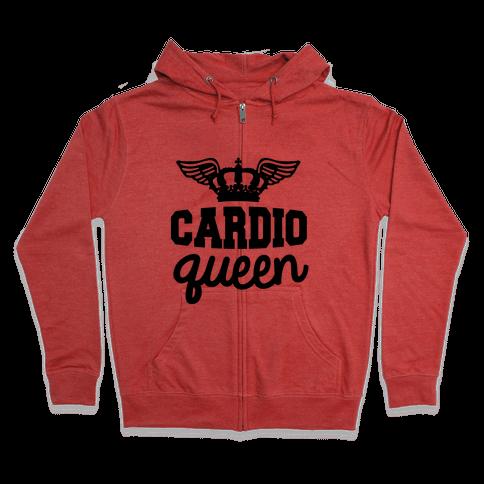 Cardio Queen Zip Hoodie