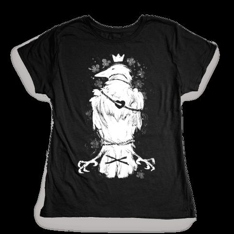 Bird In Love Womens T-Shirt