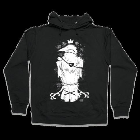 Bird In Love Hooded Sweatshirt
