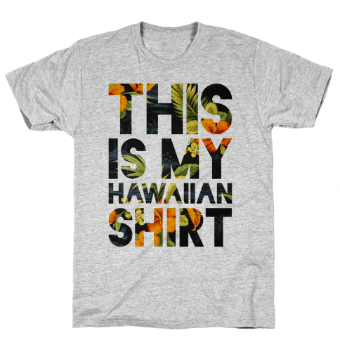 Hawaiian Shirt Shirt ver.1 Mens T-Shirt