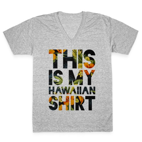 Hawaiian Shirt Shirt ver.1 V-Neck Tee Shirt