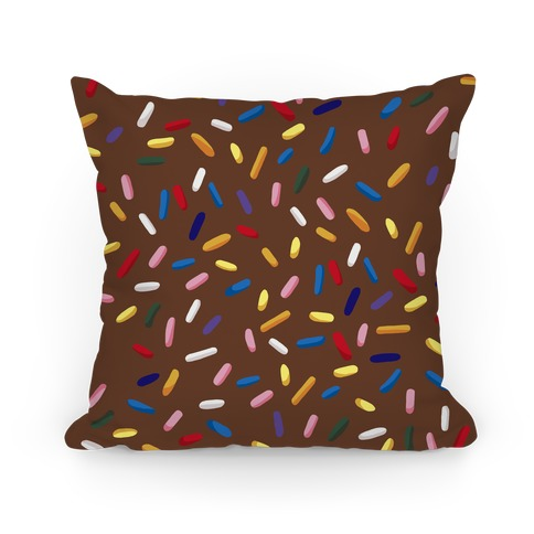 Sprinkle Pillow (Chocolate) Pillow