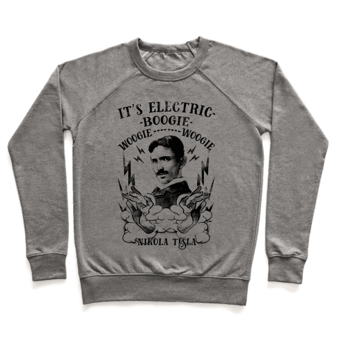 It's Electric Nikola Tesla Pullover