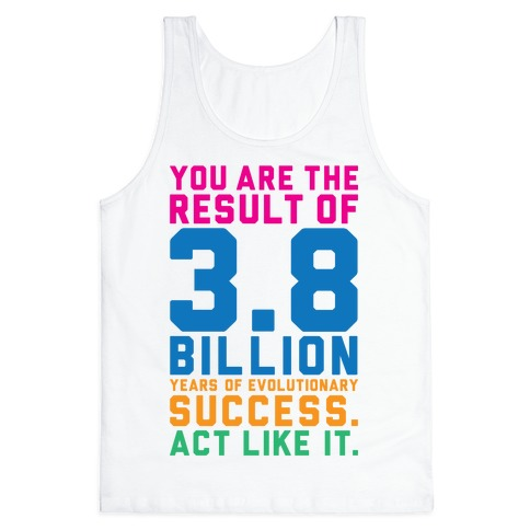 Evolutionary Success Tank Top