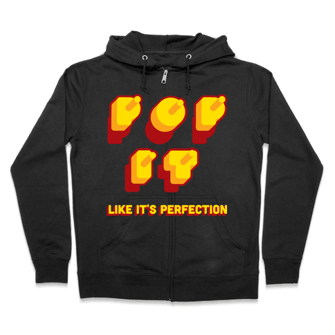 Pop it tank Zip Hoodie