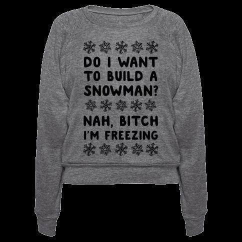 i build a snowman