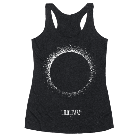 Total Eclipse Countdown Racerback Tank Top