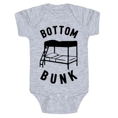 Bottom Bunk Baby Onesy