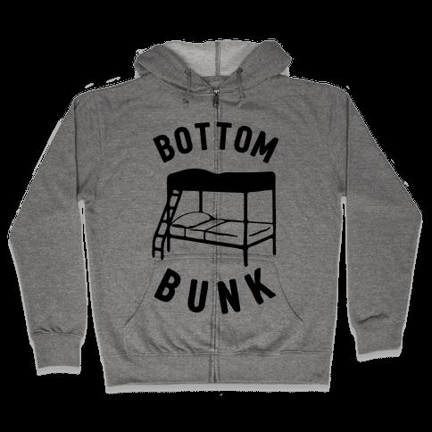 Bottom Bunk Zip Hoodie