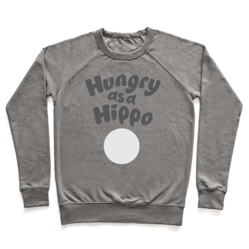 Hungry as a Hippo Pullover
