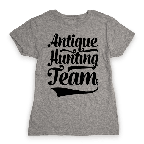 Antique Hunting Team Womens T-Shirt
