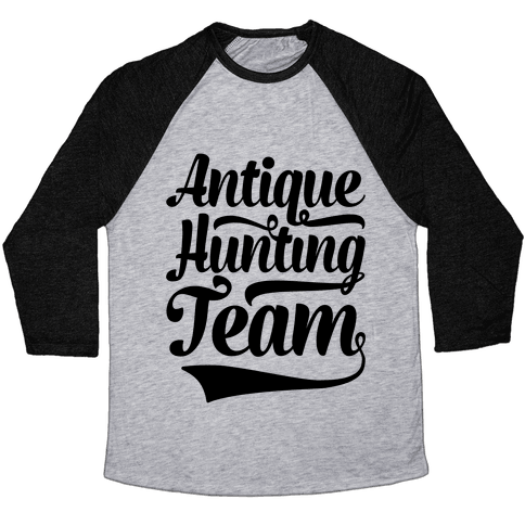 Antique Hunting Team Baseball Tee