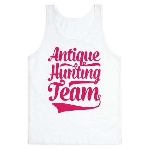 Antique Hunting Team Tank Top