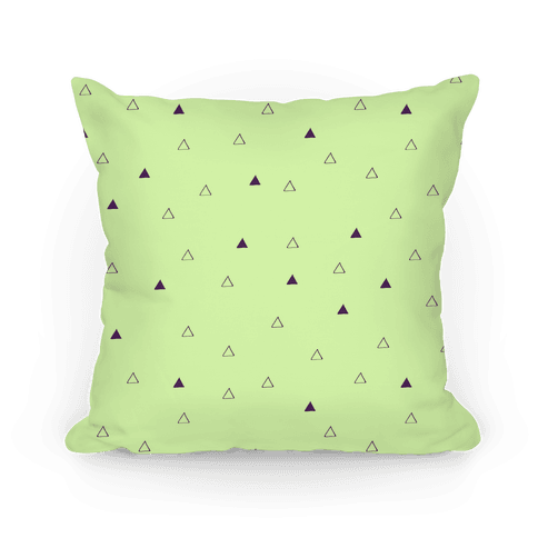 Triangle Pattern Pillow Pillow