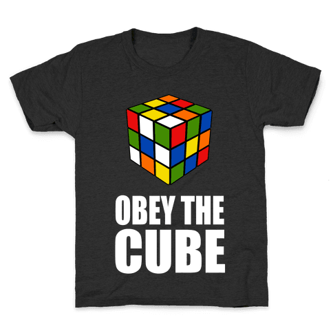 Obey the Cube Kids T-Shirt
