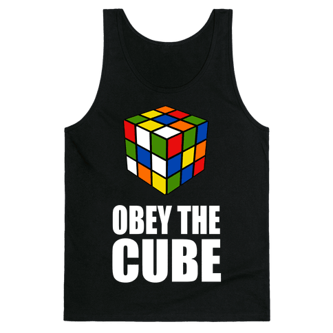 Obey the Cube Tank Top