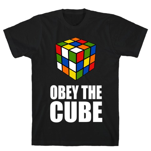 Obey the Cube T-Shirt