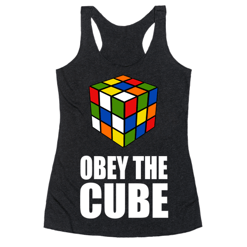 Obey the Cube Racerback Tank Top